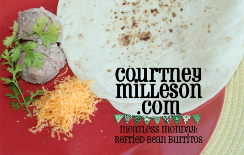 Meatless Monday bean burrito header small